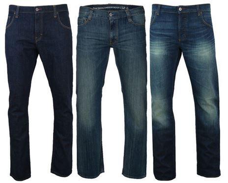 Mustang Herren Jeans Oregon Boot, Michigan Straight oder Chicago Tapered für je 36,99€