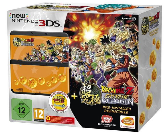New Nintendo 3DS Dragon Ball New Nintendo 3DS + Game Dragon Ball Z: Extreme Butoden ab 141,96€