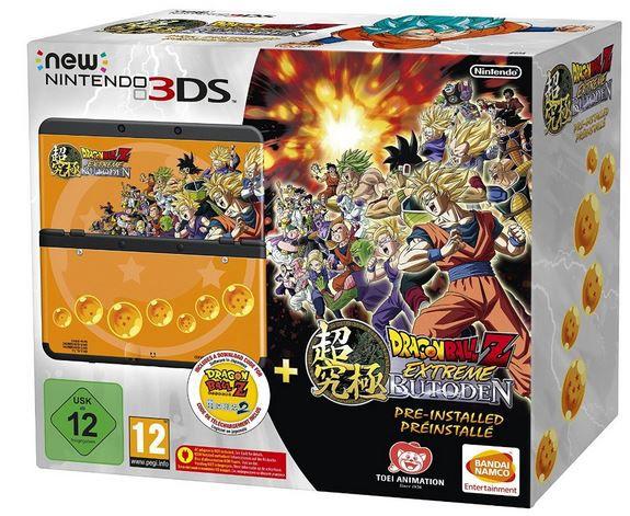 Vorbei! New Nintendo 3DS + Game Dragon Ball Z: Extreme Butoden für 99€ (statt 161€)