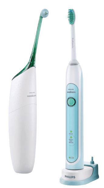 PHILIPS HX 8271 Philips HX 8271/20 Zahnbürste mit Schalltechnologie und Airfloss für 77€ (statt 90€)