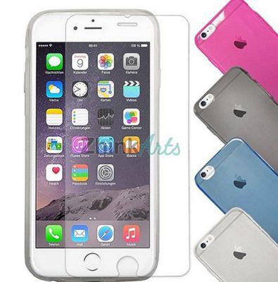 Panzerglas + Silikon Hülle für iPhone und Samsung für 3,33€