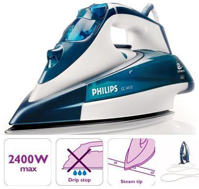 Philips GC4410 02 Philips GC4410/02   Dampfbügeleisen mit 2.400W für 34,95€ (statt 47€)