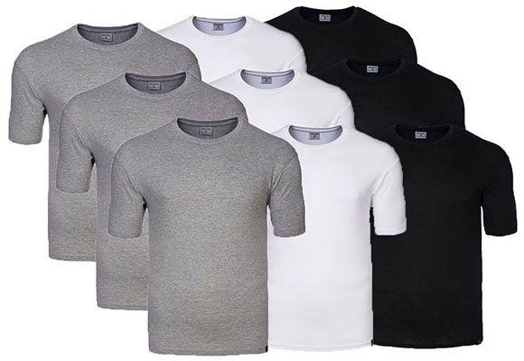3er Pack Pierre Cardin Rundhals T Shirts für 8,99€ (statt 13€)