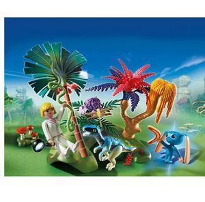 PLAYMOBIL 6687   Lost Island mit Alien und Raptor ab 6,35€