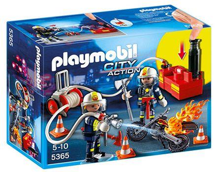 Playmobil Feuerwehrmänner mit Löschpumpe ab 9,99€ (statt 17€)