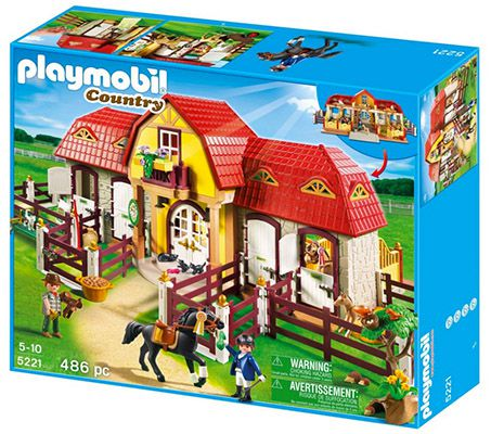 Playmobil Großer Reiterhof mit Paddocks 5221 für 76,49€