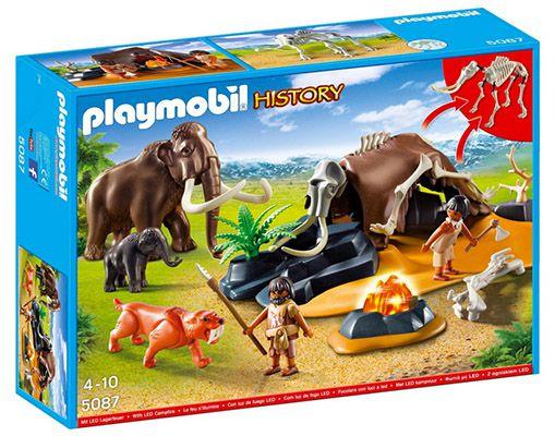 Playmobil Steinzeitlager