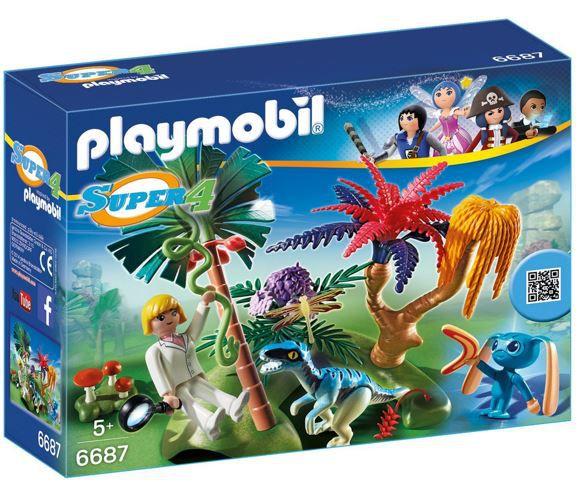 Playmobil lost Island PLAYMOBIL 6687   Lost Island mit Alien und Raptor ab 6,35€