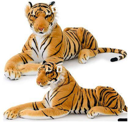 Pluesch Tiger Plüsch Tiger liegend 136cm für 21,95€ (statt 27€)