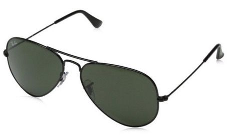 Ray Ban Aviator Sonnenbrille 58mm Größe S für 39,99€ (statt 65€)