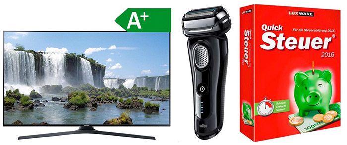 Redcoon mit bis 30% auf Technik   TVs, Rasierer, Kühlschränke etc.