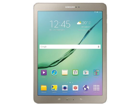 Samsung Galaxy Tab S2 815N   9,7 Zoll Android 5 Tablet in gold Edition für 479€
