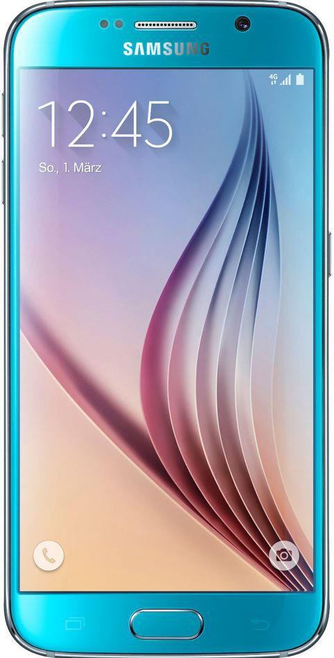 Samsung S6 64GB Samsung G920F GALAXY S6 32GB   Android Smartphone mit LTE für 349€