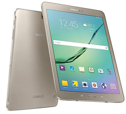 Samsung Tab S2 gold Samsung Galaxy Tab S2 815N   9,7 Zoll Android 5 Tablet in gold Edition für 479€