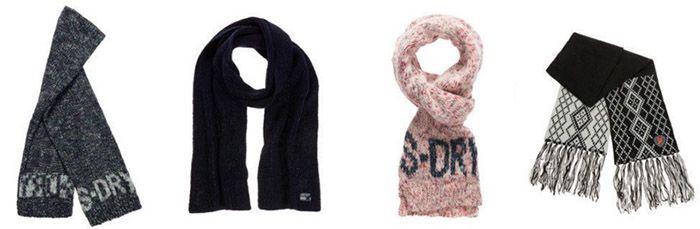 Schals Superdry Schals für je 9,95€ (statt 15€)