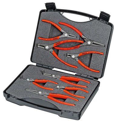 Knipex Präzisions Sicherungsringzangen 8 teilig für 70,99€ (statt 122€)