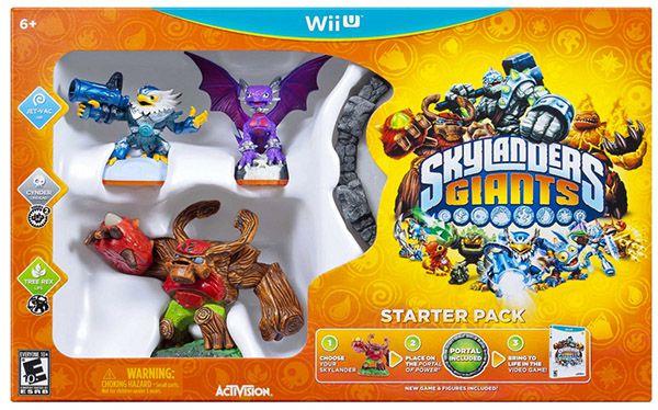 Skylanders: Giants Starter Pack (Wii U) ab 12,99€ (statt 20€)