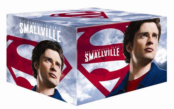 Smallville Gesamtbox (60 DVDs) für 59,97€ (statt 90€)