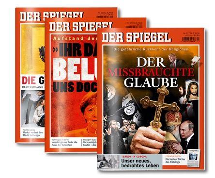 Spiegel 7 Ausgaben DER SPIEGEL + 15€ Amazon.de Gutschein für 21€