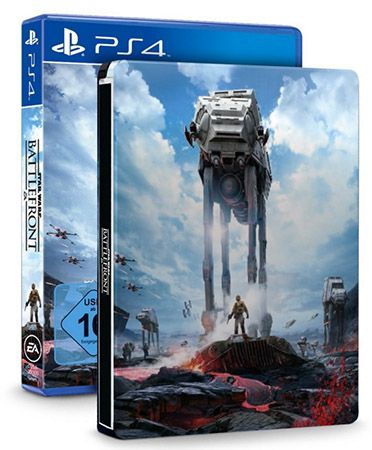 Star Wars Battlefront Steelbook Star Wars Battlefront  (PS4) für 15€ (statt 27€)