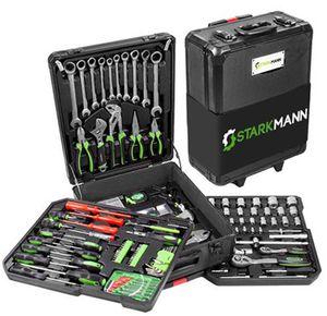 Starkmann Blackline Werkzeugkoffer 399 teilig für 94,99€ (statt 136€)