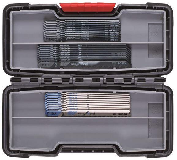 Bosch Stichsägeblätter in der ToughBox Basic (30er Pack) für 19,99€