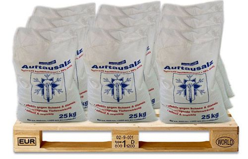 Streusalz Streusalz 25kg für 8,95€   bequem ohne selbst zu tragen
