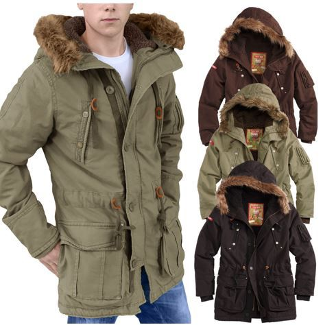 Urbandreamz Surplus Surpreme Herren Parka für je 59,90€