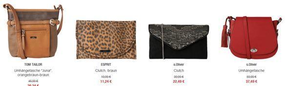 Taschen Sale 20% Rabatt auf ausgewählte reduzierte Taschen bei den Galeria Kaufhof Mondschein Angeboten
