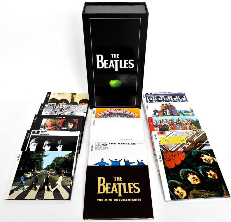 The Beatles Remastered Stereo Boxset 16 CD + DVD Box Set für 120,90€