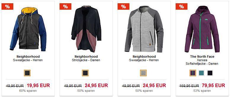 50% Rabatt auf Marken Jacken Restposten + 10€ Gutschein ab 80€ bei SportScheck   HOT!