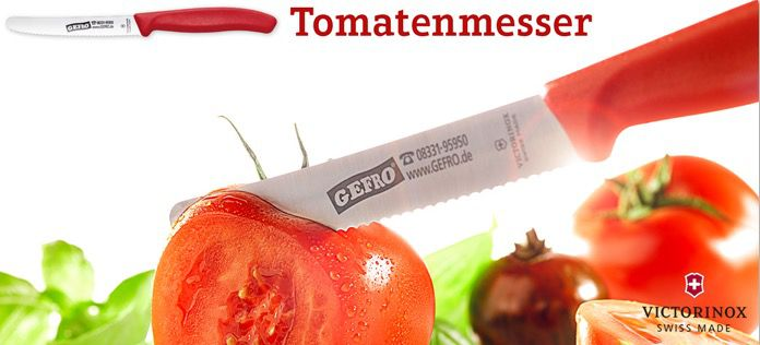 4 Victorinox Tomatenmesser für 9,36€ (statt 11€)