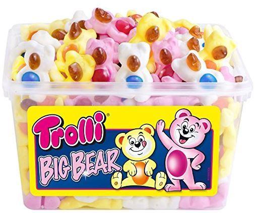 Trolli Big Bear   2er Pack mit 2 x 1.2 kg für nur 7,96€