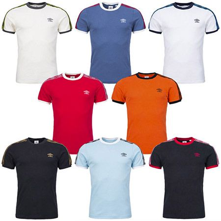 Umbro Taped Ringer Umbro Taped Ringer Tee T Shirts für je 10,99€
