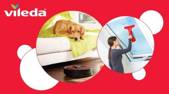 Nur heute: Vileda Saugroboter Relax Plus und Windomatic günstig bei Vente Privee