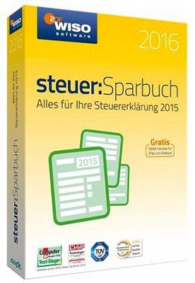 WISO Steuer Sparbuch 2016 (Steuerjahr 2015!) für 17,99€