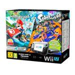 Nintendo Wii U Premium + Mario Kart 8 + Splatoon für 257,14€