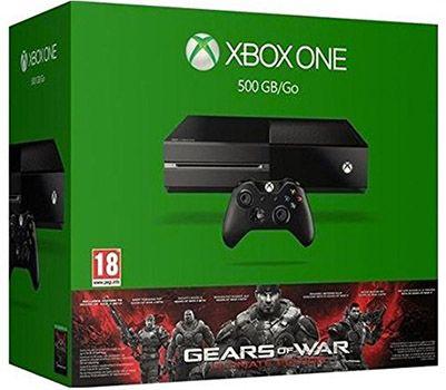 Xbox One 500GB + Gears of War: Ultimate Edition für 275,82€ (statt 339€)