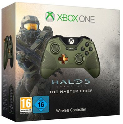 Xbox One Wireless Controller Master Chief Edition für 40€ (statt 59€)