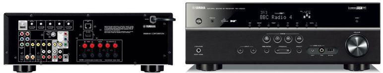 Yamaha RX V500 DAB AV Receiver mit DAB+ Radio, Airplay und Spotify für 303,99€