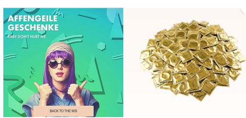 Eis.de mit 103 gratis Kondomen + VSK 5,97€