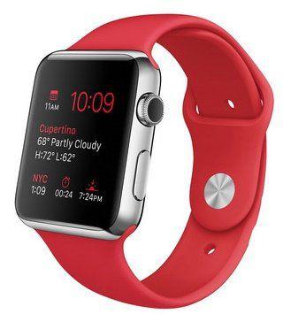 Apple Watch mit Sportarmband für 255,90€ (statt 340€)