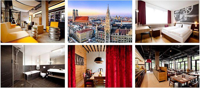 arcona LIVING 3 Tage München im 4* Hotel mit Frühstück ab 99€ p.P.