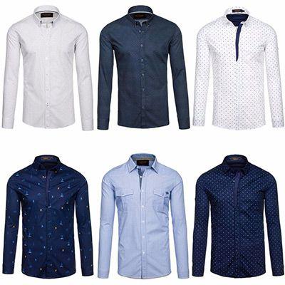 BOLF Langarm Freizeithemd für 16,50€   verschiedene Modelle verfügbar