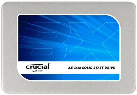 Crucial BX200 480GB SATA 2,5 Zoll interne SSD für 99€ (statt 116€)