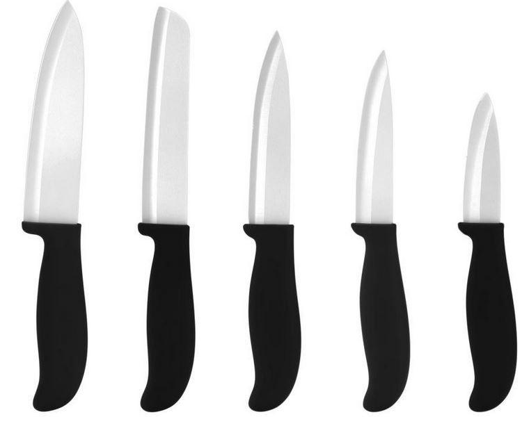 5er Set culinario ceramiPRO Keramikmesser für 25,95€