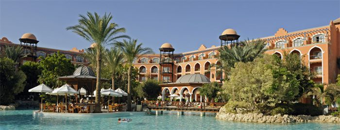 Grand Resort Hurghada: 1 Woche 5* Hotel inkl. Flug, Transfer u. All Inclusive nur 329 €
