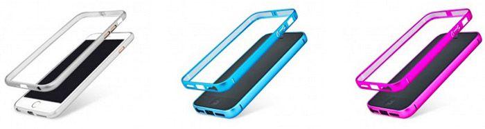 iPhone Bumper Gratis Metall Bumper für iPhone 5/5S/6/6S/Plus
