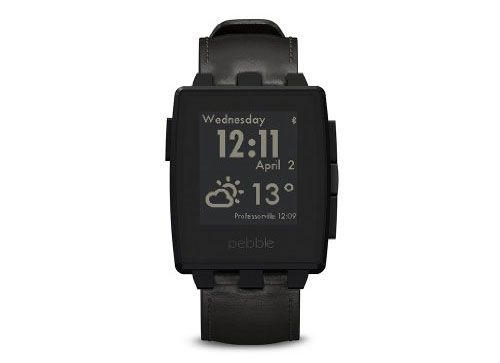 pebble1 Pebble Steel Smart Watch für 96€ – Smart Watch für iOS & Android