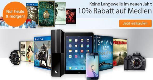 10% Rabatt ohne MBW auf alle Medien bei reBuy   Games, Filme, Bücher und Musik